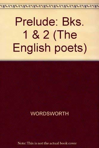 9780300027532 Prelude Bks 1 2 The English Poets