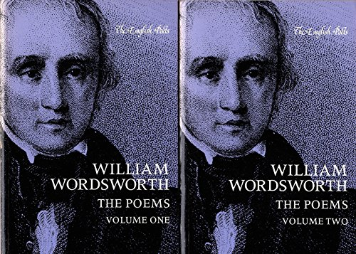 William Wordsworth: The Poems, Volume 1 (English: Wordsworth, William; Hayden,