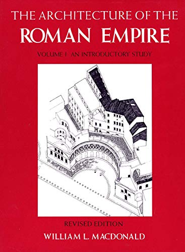 9780300028195: The Architecture of the Roman Empire, Volume 1: An Introductory Study, Revised Edition (Yale Publications in the History of Art)