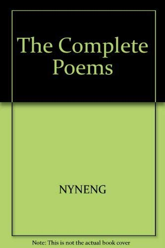 9780300028287: The Complete Poems (English Poets)