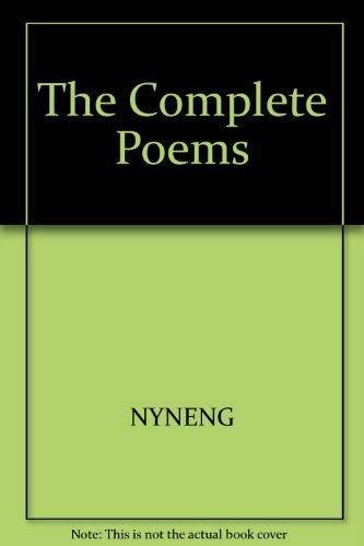The Complete Poems: Jonson, Ben; Parfitt, George A. E.