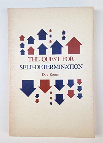 9780300028409: The Quest for Self-determination (Study in Political Science)