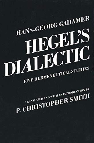 9780300028423: Hegel's Dialectic