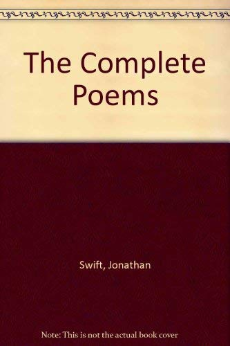 9780300029673: The Complete Poems [Paperback] by Swift, Jonathan