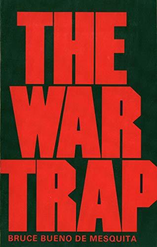 9780300030914: The War Trap