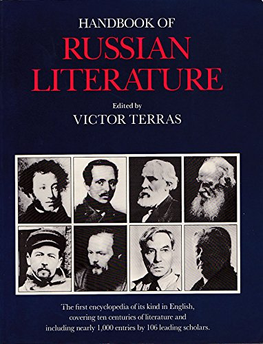 9780300031553: Handbook of Russian Literature