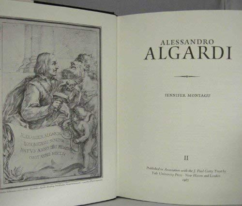 9780300031737: Alessandro Algardi