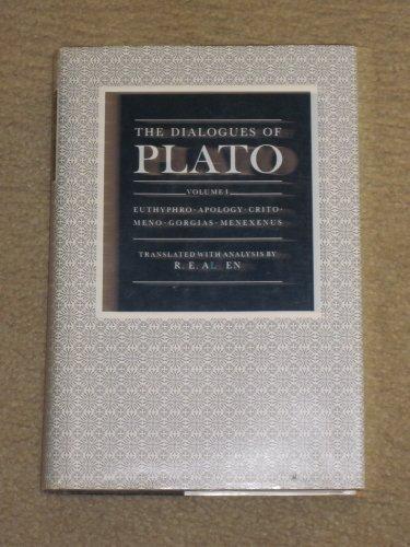 9780300032260: The Dialogues of Plato: Euthyphro, Apology, Crito, Meno, Gorgias, Menexenus