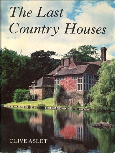 9780300034745: The Last Country Houses