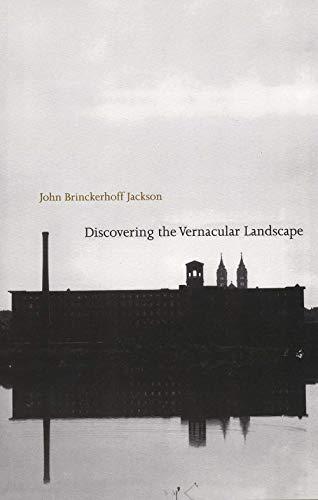 9780300035810: Discovering the Vernacular Landscape