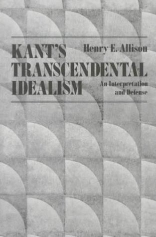 9780300036299: Kant's Transcendental Idealism: An Interpretation and Defense
