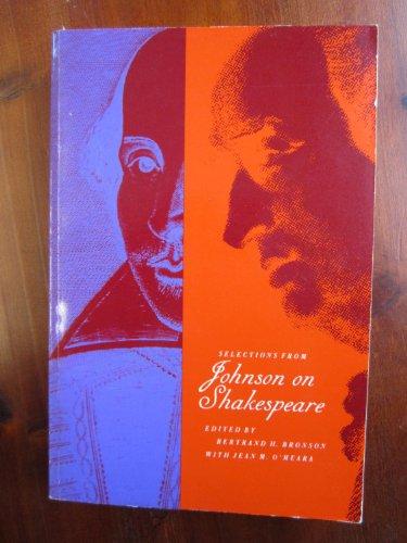 Selections from Johnson on Shakespeare: Samuel Johnson