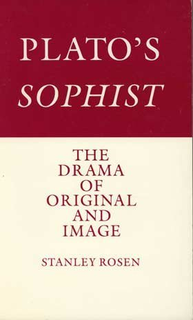 9780300037616: Plato's Sophist: The Drama of Original and Image