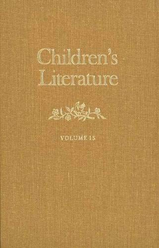 Children's Literature (Vol. 15) (Children's Literature Ser., Vol. 15): Butler, Francelia ...