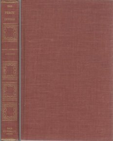 9780300038149: The Percy Letters: The Correspondence of Thomas Percy and Robert Anderson (Vol 9)