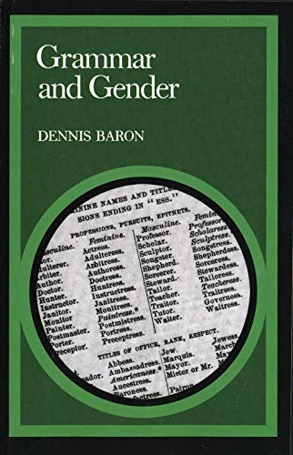 9780300038835: Grammar and Gender