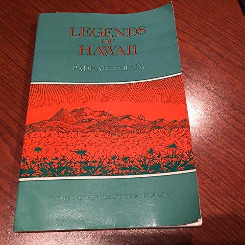 9780300039238: Legends of Hawaii