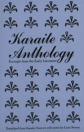 9780300039290: Karaite Anthology: Excerpts from the Early Literature (Yale Judaica Series)