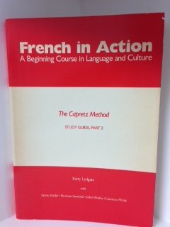 9780300039405: French in Action: A Beginning Course in Language and Culture: Study Guide, Part 2 (Yale Language Series)