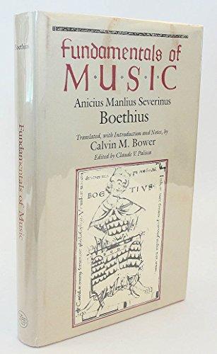 9780300039436: Fundamentals of Music: Anicius Manlius Severinus Boethius (Music Theory Translation Series)