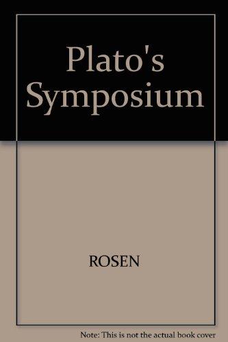 """9780300039542: Plato's """"Symposium"""""""