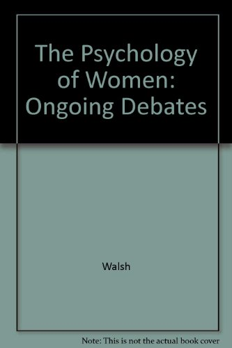 9780300039658: The Psychology of Women: Ongoing Debates