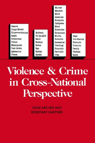 9780300040234: Violence and Crime in Cross-National Perspective