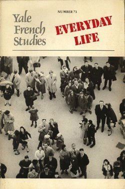 9780300040470: Everyday Life (Yale French Studies)