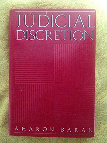 9780300040999: Judicial Discretion