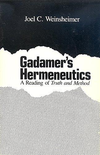 9780300041354: Gadamer's Hermeneutics: A Reading of Truth and Method