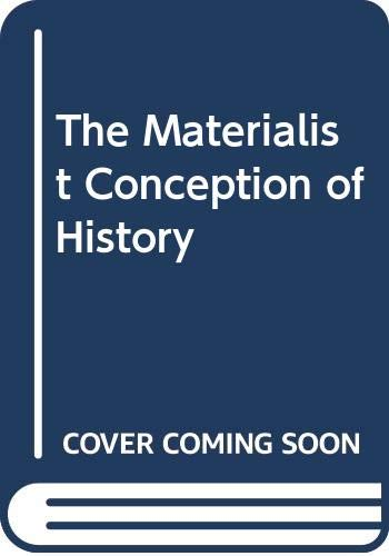 9780300041682: The Materialist Conception of History (English and German Edition)