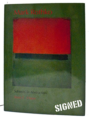 9780300041781: Mark Rothko: Subjects in Abstraction