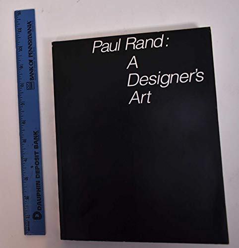 9780300042139: Paul Rand: A Designer's Art