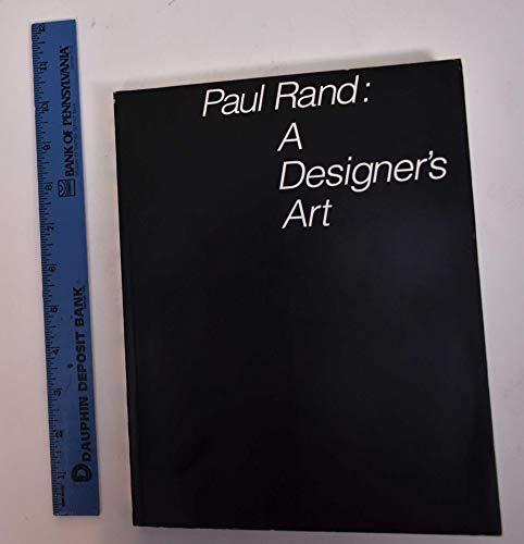 9780300042139: Paul Rand: A Designer's Art