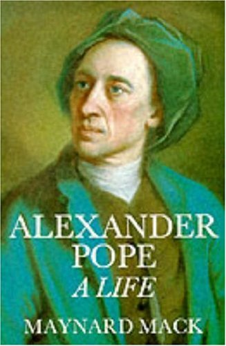 9780300043037: Alexander Pope: A Life