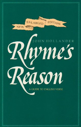 9780300043068: Rhyme's Reason: A Guide to English Verse