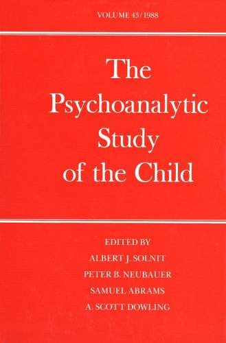 The Psychoanalytic Study of the Child: Volume: Editor-Dr. Albert J.