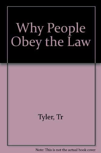 9780300044034: Why People Obey the Law