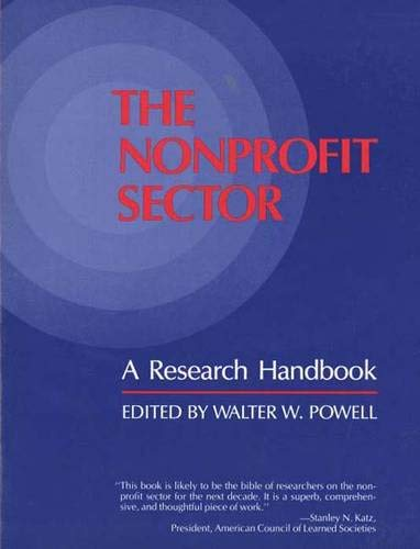 9780300044973: The Nonprofit Sector: A Research Handbook