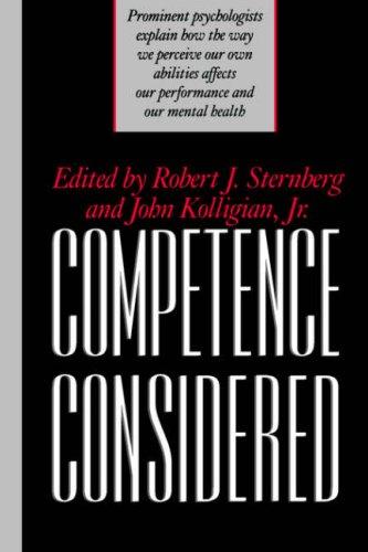 Competence Considered: Robert J. Sternberg