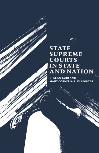 9780300045901: State Supreme Courts in State and Nation