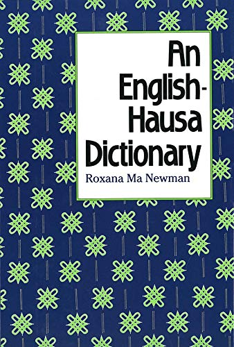 9780300047028: An English-Hausa Dictionary