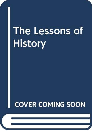 9780300047288: The Lessons of History
