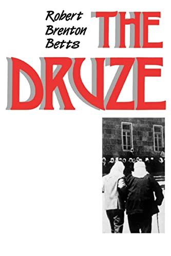 9780300048100: The Druze