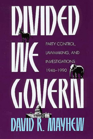 9780300048377: Divided We Govern: Party Control, Lawmaking, and Investigations, 1946-1990