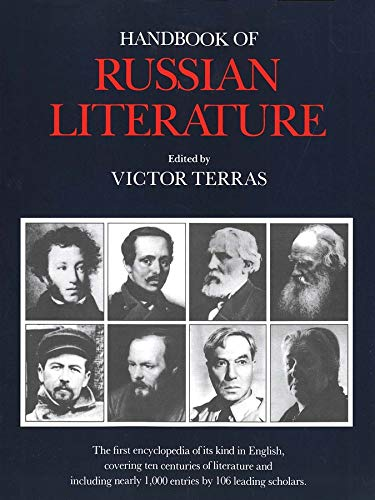 9780300048681: Handbook of Russian Literature