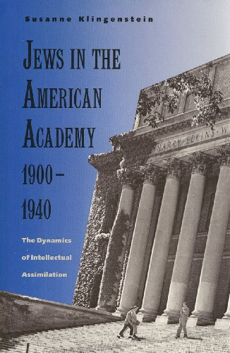 9780300049411: Jews in the American Academy, 1900-1940: The Dynamics of Intellectual Assimilation