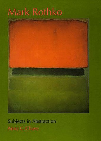 9780300049619: Mark Rothko: Subjects in Abstraction (Yale Publications in the History of Art)