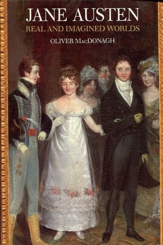 9780300050844: Jane Austen: Real And Imagined Worlds