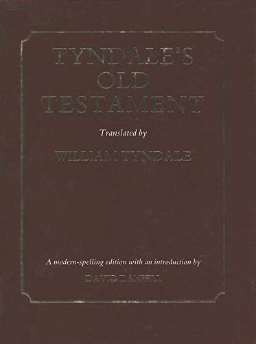 9780300052114: Tyndale's Old Testament